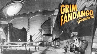 Grim Fandango Remastered Gameplay (PC HD)