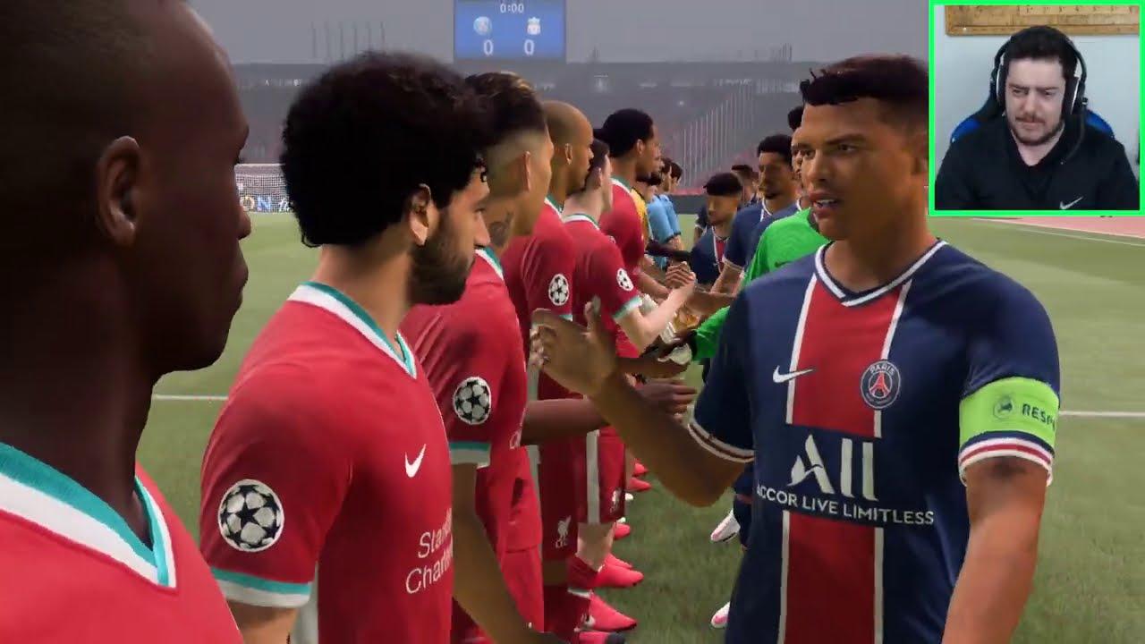FIFA 21 - PRIMEIRA PARTIDA E PRIMEIRA OPINIÃO SINCERA !! ( Melhor que o Pes21 ? )