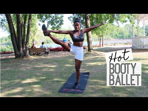 Grow and Tone your Booty and Legs with Hot Booty Ballet