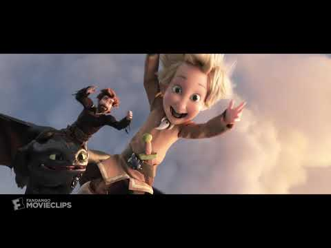 How to Train Your Dragon 3 2019   Toothless Returns Scene 10 10   Movieclips