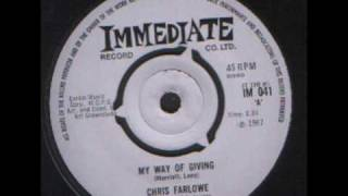 Chris Farlowe - my way of giving.wmv