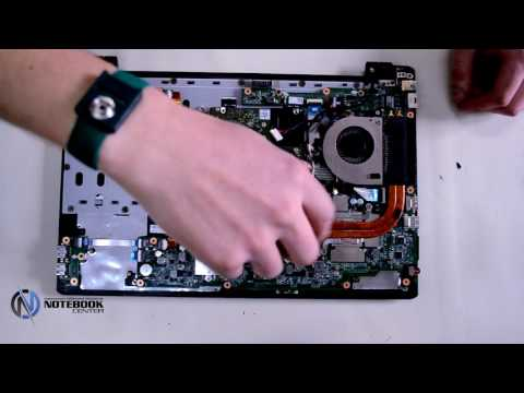 Acer Aspire V5-551G - Disassembly and cleaning