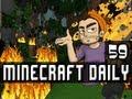 Minecraft Daily | Ep.59 Ft Sam(IAmSp00n), Kevin, and STeVEEEN | Bye Sam :D!