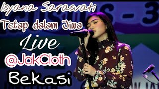 Isyana Sarasvati - Tetap dalam Jiwa Live fancam (@JakCloth Summarecon Mall Bekasi 01 September 2017)