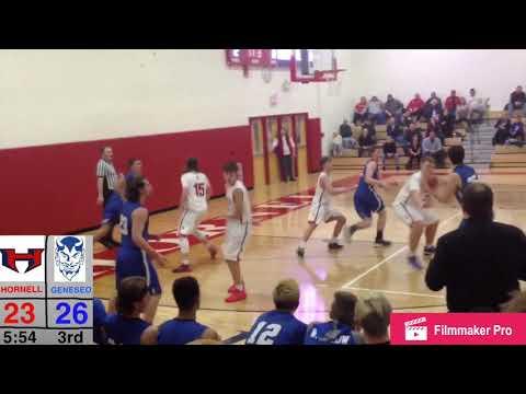 Geneseo @ Hornell | Game Rewind | Geneseo High School Basketball Game #1
