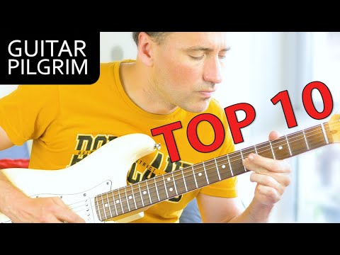 TOP 10 EASY & AWESOME GUITAR SOLOS!!