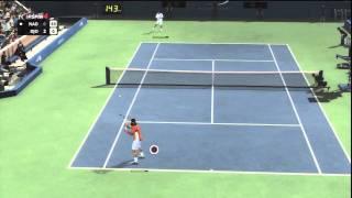 Top Spin 4 - Viaje al futuro: Nadal vs. Djokovic (Parte 1)