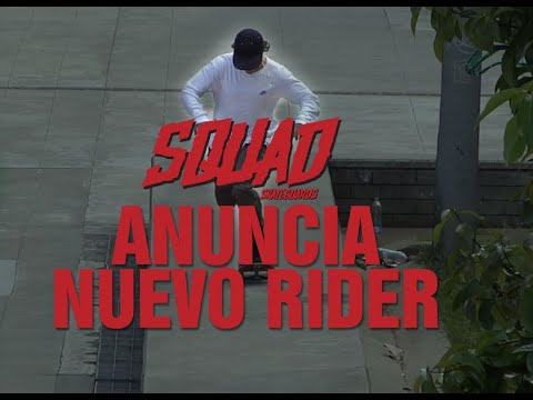 David Rendón, Nuevo integrante de Squad Skateboards