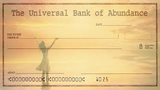 Universal Chequebook  Ask And You Will Receive  Attract Wealth and Abundance  Simply Hypnotic