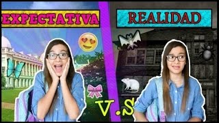 COLEGIO NUEVO - EXPECTATIVA VS REALIDAD ♥ Lulu99