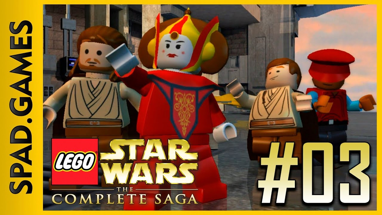 03 Lego Star Wars The Complete Saga Ep I The Phantom Menace Ch 3 Escape From Naboo