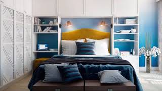 Blue Bedroom Designs is the perfect embodiment of modern romance ➤ Interior design trends 2019