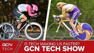 Is New Tech All That's Making Cycling Faster? | GCN Tech Show Ep. 33