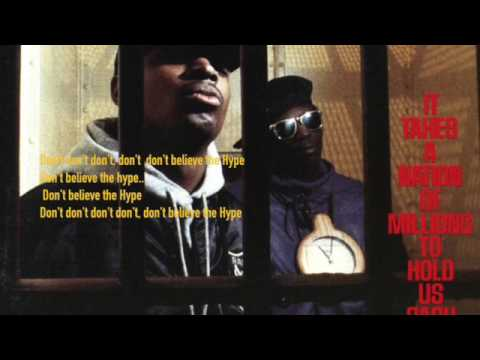 Lyrics from: Public Enemy ~ Dont Be the Hype