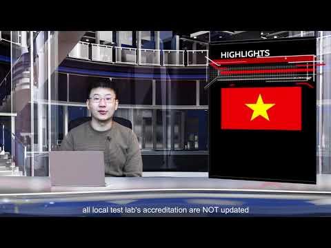 SIEMIC News - Vietnam MIC has released the new EMC RF std QCVN 112:2017/BTTTT