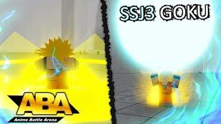 Nouveau SSJ3 Goku Full Showcase dans Anime Battle Arena! Roblox