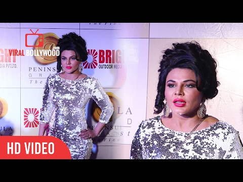 Rakhi Sawant At 3rd Bright Awards 2017 | Viralbollywood