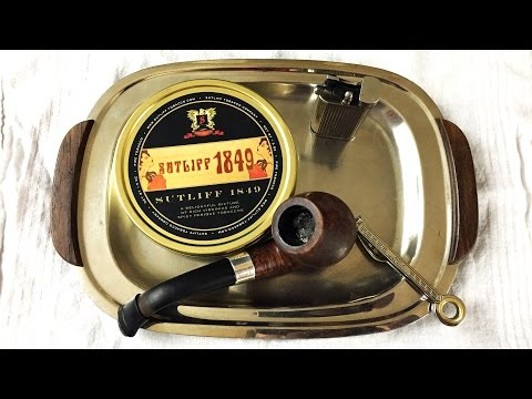 """Pipe Tobacco Review: """"Sutliff 1849"""""""