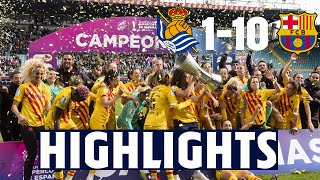 HIGHLIGHTS | Real Sociedad 1 - FC Barcelona 10 | S...