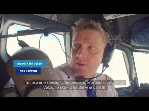 Norges vakreste innflygning Tromsø