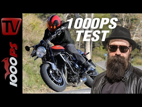 1000PS Test - Kawasaki Z900 RS - ENGL Subtitles - 1000PS testet