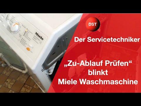 miele-waschmaschine-zulauf-prüfen-und-ablauf-prüfen-blinkt