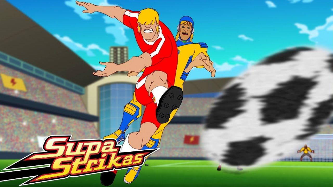 Supa Strikas | Blok / Attak! | Full Episode Compilation | Soccer Cartoons for Kids! Football!