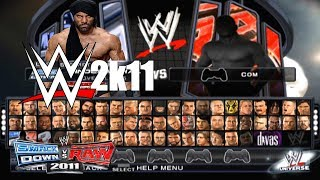 New CAWs For WWE SmackDown vs. Raw 2011
