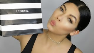 MAKEUP BEAUTY HAUL   WHATS NEW AT SEPHORA   SCCASTANEDA