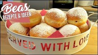 BERLINER Rezept | Die besten Krapfen Pfannkuchen selber backen