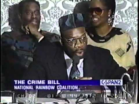 The Crime Bill   National Rainbow Coalition