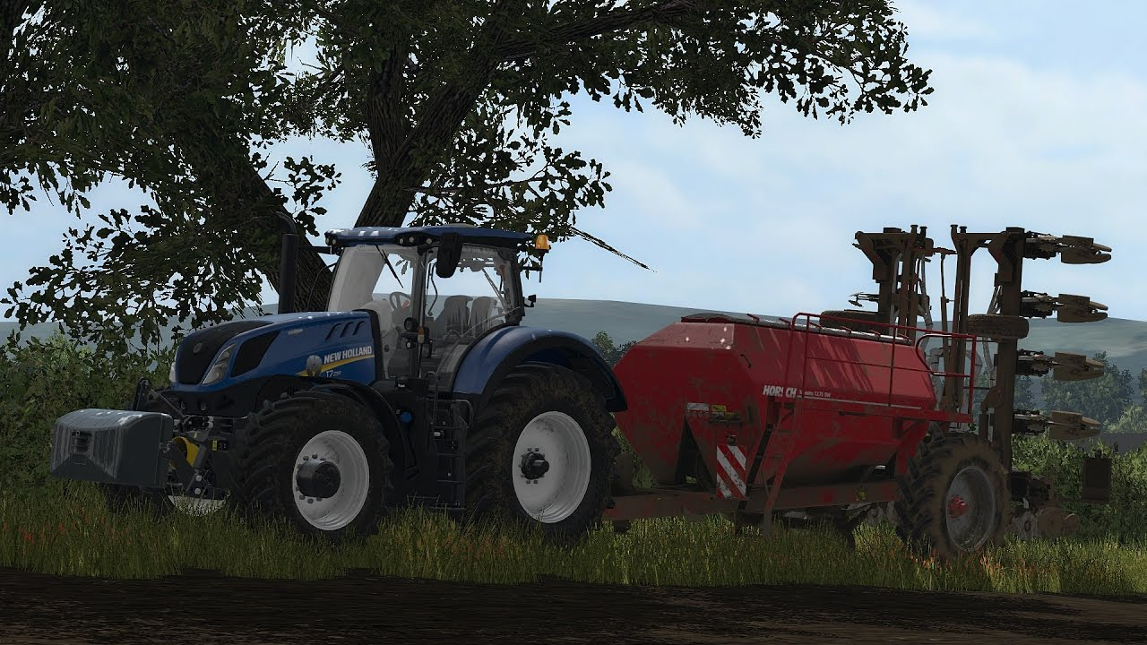 FS17 - Sutton-Farm 2017 - New Holland T7 290 + Horsch