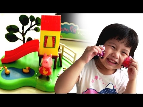 Peppa Pig Outdoor Fun Slide Toy From ToysRUs | Toy Fun