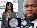 Quavo Pays Homage To 50 Cent G Unit Spinner With New QC Chain SPINNER EDITION mp3