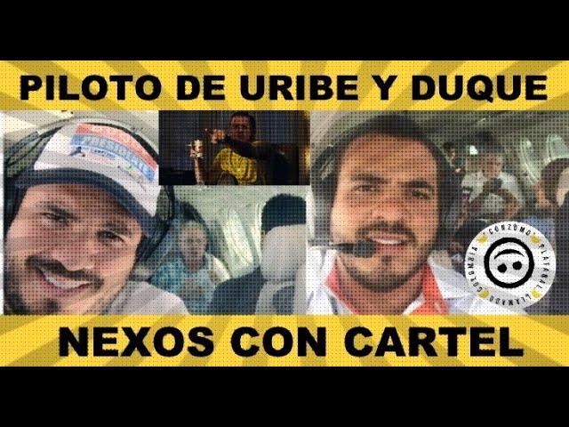 piloto de Duque y Uribe transportaba cocaína del cartel de Sinaloa. - YouTube