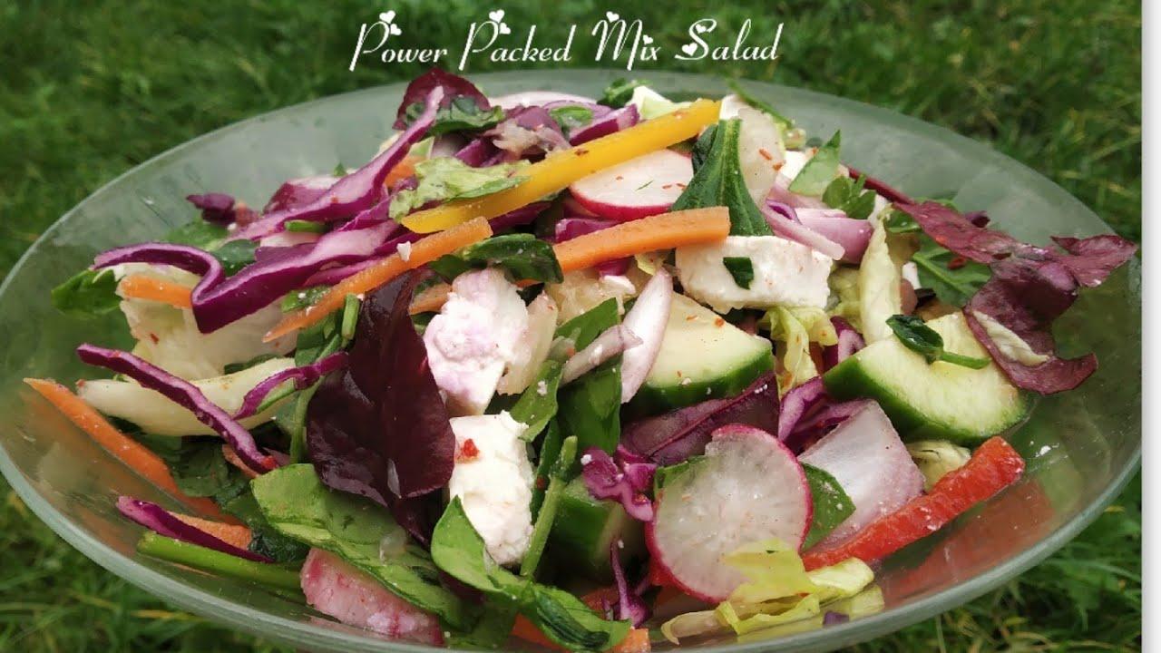 Greek Salad Recipe Hindi