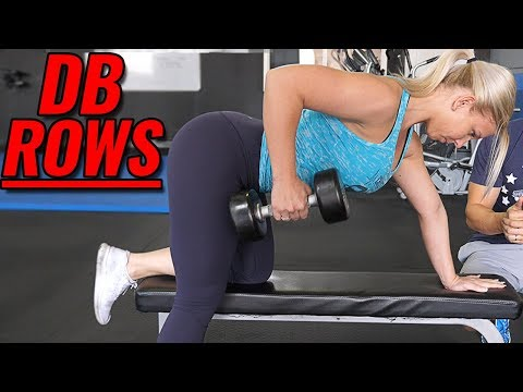 Master the 1 Arm Dumbbell Row in under 90 Seconds!