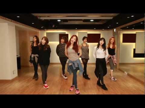 RAINBOW(레인보우) - Tell me Tell me(텔미텔미) Dance Practice Video