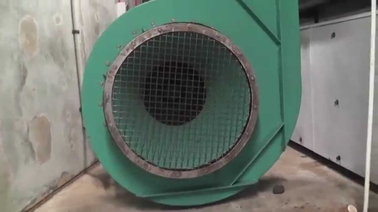 Swimming pool wavemachine fan start up - Westwave - YouTube
