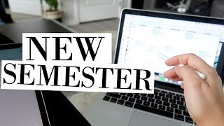 getting my life together | prep for new semester in college