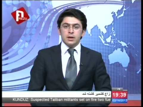 AREZU TV Afghanistan , Dari news 17/02/2013