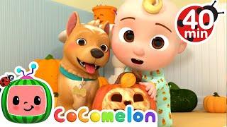 Peek-a-BOO Song Halloween Edition More Nursery Rhymes \u0026 Kids Songs - CoComelon