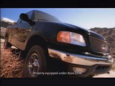 90's Ford F Series Truck Commercial #3 (F-150)