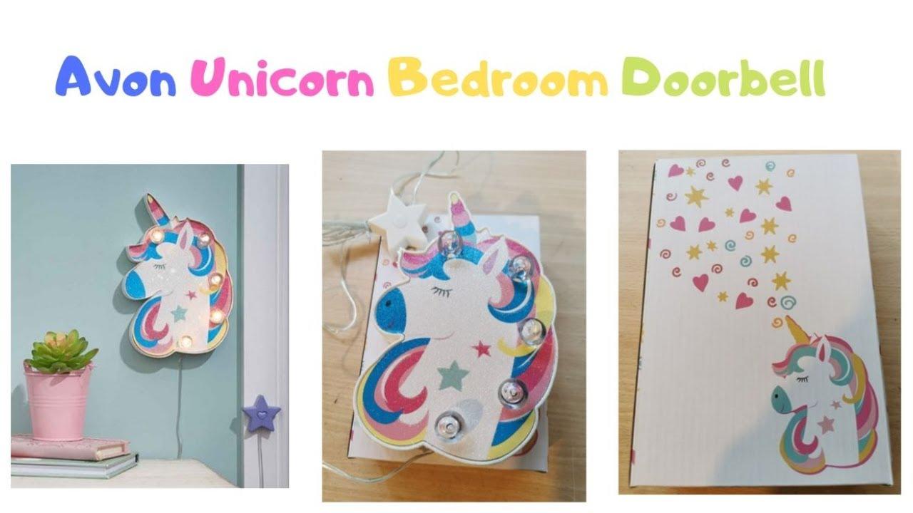 Avon Unicorn Bedroom Doorbell Avonuk Unicorns Xmas Youtube