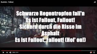 Bushido - Fallout / LYRICS-VIDEO