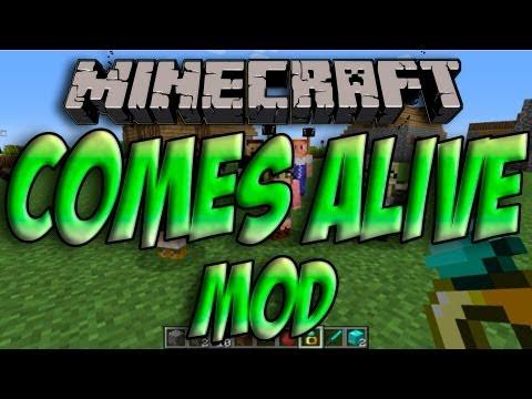 Minecraft 1.5.2 - Como Instalar COMES ALIVE MOD - ESPAÑOL [HD] 1080p