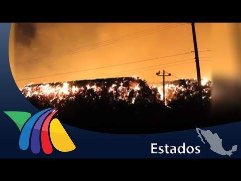 Rayo Provoca Enorme Incendio En Culiacán | Noticias De Culiacán