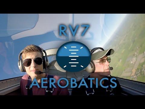 RV-7 Aerobatics Flight | HD |