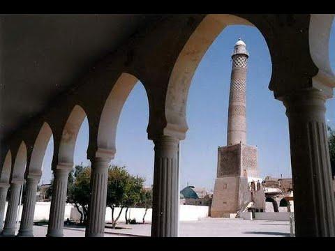 حصري | المشهد الأخير لمنارة الحدباء قبل أن يفجرها #داعش في #الموصل القديمة  - نشر قبل 3 ساعة