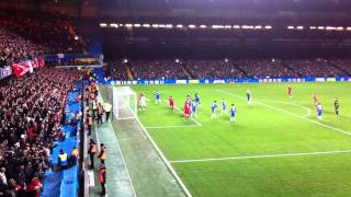Chelsea vs. Liverpool. Carling Cup 2011. 2nd goal